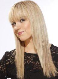 18 pouces perruque synthétique droite en Ligne-Cheveux synthétiques Super Soft Comfortable Sweet Long Straight Women's Wig 18 Inches