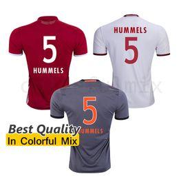 Wholesale HUMMELS Soccer Jersey Mats Julian Hummels Soccer Uniforms RIBERY ROBBEN MULLER BOATENG BERNAT Top AAA Quality Football Shirt