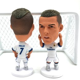 Wholesale Real Madrid players including C Ronaldo Ramos coach Baer Zidane Modric fans birthday gift souvenir doll model