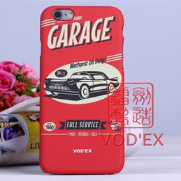 Wholesale Vodex cases hot red antique car Apple water mobile phone shell embossed D feel iPhone7 p p
