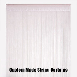 Wholesale High Quality String Curtain Panel Decorative Fringe Sheer Curtains wedding events backdrop decor room divider Custom Made Fast Shipping