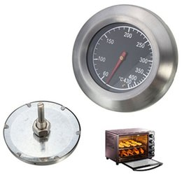 Wholesale Barbecue BBQ Smoker Grill Stainless Steel Thermometer Temperature Gauge Kitchen Dining Bar Tools