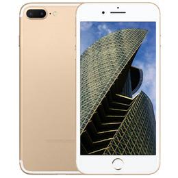 Gb mémoire vidéo en Ligne-Goophone i7 plus MTK6580 quad-core 3g RAM réseau 4 + 8G grande mémoire 64gb rom Affichage 5.5 pouces 4G LTE débloquer le smartphone