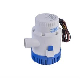 Wholesale 3700 GPH V A Electric Bilge Pump Marine Boat Yacht Submersible quot Hose