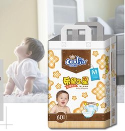 Lowest Price 2019 Factory sale Wholesale Baby Diapers Economy Pack Three-demensional leakproof locks in urine Ultra-Thin and soft W17JS386