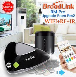 Wholesale Original Broadlink RM2 RM Pro Smart Home Automation télécommande universelle sans fil WIFI IR commutateur RF par iphone Pad Android