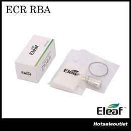 Original Eleaf iSmoka ECR Head ECR RBA Coil for Eleaf Melo 2 ijust 2 Tank ECR RBA Atomizer Head