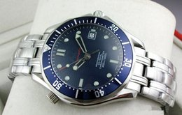 Wholesale 2016 Luxury Mens Professional m James Bond Blue Dial Sapphire Automatic Watch Men s Watches