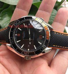 Wholesale Luxury Automatic machinery Power Reserve mm Black Nylon bracelet Perfect men watch
