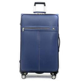 Canada 20 2428 pouces PU Leather Business Trolley Sac à sac universel à roues bagages bagages femme valises sacs roues à roulettes Pull Rod Offre