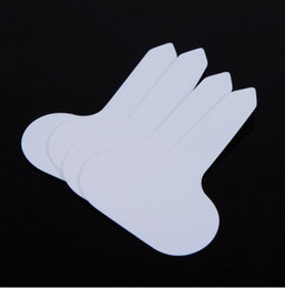 Wholesale T type Plastic Nursery Garden Plant Label Flower Thick Tag Mark White White for Garden Accessories HY1279