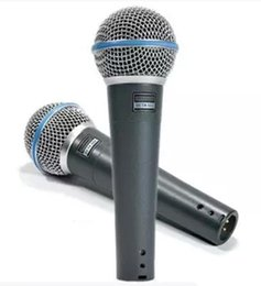 Wholesale Top quality version Beta A vocal Karaoke microphone Super clear live vocal dynamic wired handheld microphmicrophone