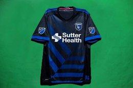 Wholesale New Arrival San Jose blue soccer jerseys CUSTOMIZED Earthquakes Top thai quality football shirt WONDOLOWSKI QUAKES Free Epack