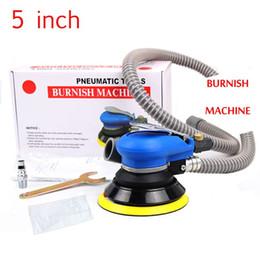 Wholesale 5 inch self vacuum pneumatic sander pneumatic polishing machine air Eccentric orbital sander tool pneumatic car polisher