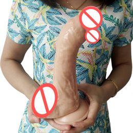Juguetes sexuales didlo en Línea-Big didlo anal consolador realista masturbación artificial pénis dick sexo juguete para mujer productos sexo femenino juego