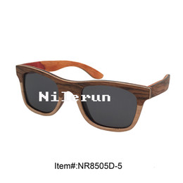 different colors layered wood sunglasses with grey polarized lens