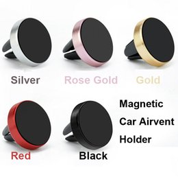 Magnetic Car Phone Holder Car Air vent Phone Bracket Stand For iPhone 7 iPhone 8 Samsung S8 Note 8