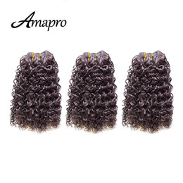 Wholesale Amapro Hair Products Inch Afo Kinky Curly Hair Extension Weaving g pc Bundles Hair Weft Tangle Free