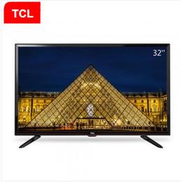 2016 tv lcd 55 TCL 32 pouces support lunette étroite Lecture vidéo USB Blu-ray décodage LED TV LCD chambre premier produit populaire! tv lcd 55 sortie