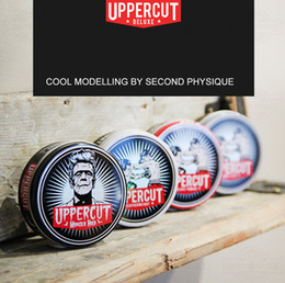 New Arrival Hair Oil Wax Hairstlye Beauty Restoring Uppercut Pomade Deluxe Water Soluble Restoring For Styling Salon