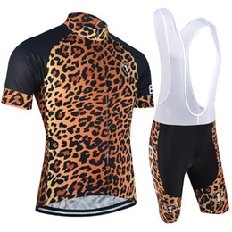 BXIO Brand Short Sleeve Road Bike Jerseys Cool Leopard Print Cycle Jerseys Best Cycling Brands Clothing Hot Sale BX-0209L-032