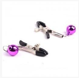 SM Adult products SM game toys Rosy copper bell clip (2 only) flirting activities stage performance props