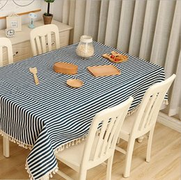 Practical tablecloth fabric thickening cotton and linen small fresh round tablecloths tablecloths rectangular rectangular garden table cloth