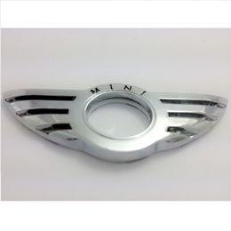 Wholesale 10 Car Styling Insignia Emblem Wing Sticker Badge Decoration for BMW MINI Cooper R55 R56 R57 R58 R59 Door Lock Knob