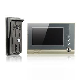 Wholesale Alloy video door phone inch TFT LCD color screen cast iron outdoor camera