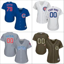 2016 World Series Champions patch personnalisé femmes Chicago Cubs Customized 2016 Nouveau blanc Cool Base Jersey cousu taille S-2XL supplier new jersey woman à partir de nouvelle femme jersey fournisseurs