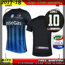 Wholesale Patch Rubber Atalanta Bergamasca Calcio Jersey GOMEZ Grossistes Italie maison dédicaces expédition gratuite