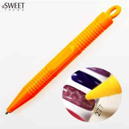 Wholesale SWEET TREND Cat Eye Magnet Pen Nail Art Pen D Nail Art DIY Painting Pen for UV Gel Polish Magical Nail Art Tools ND252