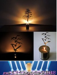 Wholesale 2017 NEW New Fashion LED Night Light Creative Shadow LED Projection Lamp model available for Valentine s Day gift Birthday Gift MYY