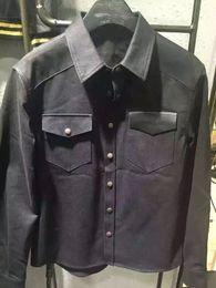 Wholesale 2016 Autumn and winter fashion brand denim Maple Long sleeve shirt cowboy shirt men casual shirts mens shirt men social masculina