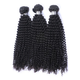 Mongolian Kinky Curly Virgin Hair Weave Bundles Unprocessed Afro Kinky Curly Mongolian Remy Human Hair Extension 3Pcs Lot Natural Color