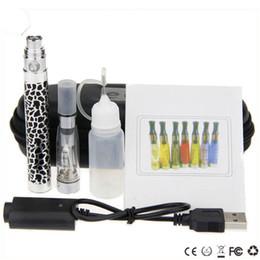 Wholesale CE4 ego K starter kit ego King kit eGo zipper e cigarettes cigs mah mah mah battery ce4 atomizer vapor vaporizer