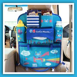 Cartoon car storage bag Seat hanging bag Oxford fabric Car Seat Organizer Holder Car seat finishing bag