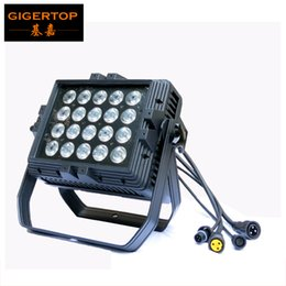 Wholesale TIPTOP x15W IN1 Waterproof Led Wall Washer Light RGBWA Black Light Buliding Back Ground Led Washer Lighting High Power