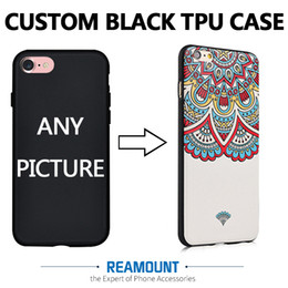 200 pcs 2D Custom Design Phone Case Printed Coque for iphone 7 7 Plus DIY Soft Silicon Transparent TPU Case for iPhone 6