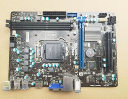 Wholesale MSI B75MA E33 B75 Motherboard LGA1155 Socket1155 W IO Shield mATX PCIE3 X16 USB3