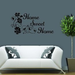 Home Sweet Home Vinyl Wall Art Sticker Removable Transfer Decal Decor Lounge Bedroom Sitting Room Diy