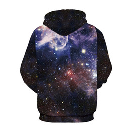 Men Women Hooded Sweatshirt 3D Galaxy Sky Star Hoodie Pullover Cap Paint Hoody Tracksuit Tops Plus Size Casual Streetwear