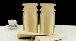 100pcs cute penguin kraft paper bag stand up lining aluminium foil for rice corn coffee tea tea cookie candy 12*23+3cm