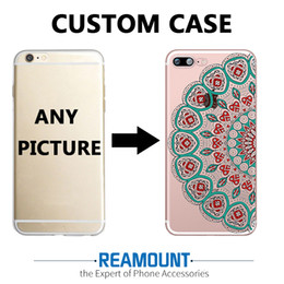 3D DIY Mandalas Transparent Customize Phone Back Cover Case for iphone 6s plus for Samsung s7 edge Unique Shell Phone Cover Case