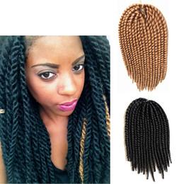 Havana Mambo Twist Crochet Braiding Hair Extensions 16 Inch Synthetic Crochet Twist Senegalese Braids Hair