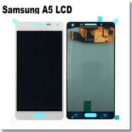 Wholesale For Options Samsung Galaxy A5 A5000 LCD Display Touch Screen with Digitizer Assembly Mobile Phone LCD glass