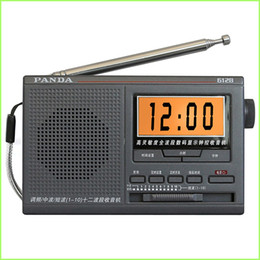 Wholesale Portable Panda Radio AM FM SW Receiver Full Band Semiconductors Elder Broadcast With Build in speaker