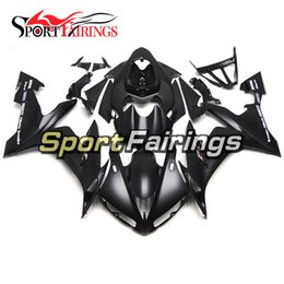 Full Fairings For Yamaha YZF R1 YZF-R1 2004 2005 2006 04 05 06 ABS Motorcycle Kit Bodywork Motorbike Cowlings Covers Matte Black Grey Decals
