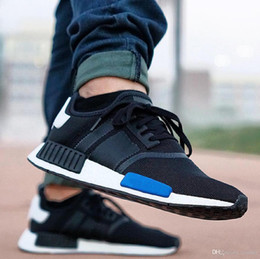 With Box 2017 Cheap Wholesale R1 New NMD Runner PK Primeknit 2017 Men's & Women's Hot Sale Sports Basketball Shoes Fast Top Quality