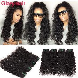 Formes brésiliennes de cheveux de vague d'eau Formes naturelles de tissus d'onde de vague curly weaves hairstyles promotion à partir de bouclés tisse coiffures fournisseurs